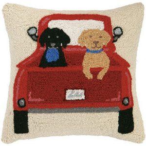 peking-handicraft-hook-pillow-dogs-in-truck-decorative