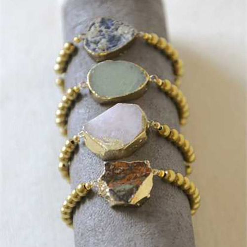 creative-coop-agate-bracelets-interior--design-crested-butte-colorado
